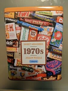 Brand New Gibsons 500 Piece Jigsaw Puzzle - 1970s SWEET MEMORIES