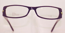 CHRISTIAN DIOR CD3185 6Q8 CLASSIC LADIES DEEP PURPLE PLASTIC GLASSES FRAME