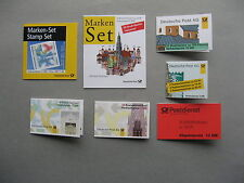 GERMANY BRD, lot, 7 booklets CTO FDC