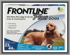 Merial Frontline Plus Flea & Tick Control for Midium Dogs 23-44 lbs for 8 Months
