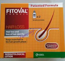 FITOVAL LOZIONE 2 x40ml perdita di capelli trattamento Ricrescita Capelli