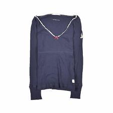 Odd Molly señora blusa camisa top camisa blouse talla 1 (de 36) 214 Navy azul 88977