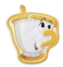 Disney Parks Beauty and the Beast Chip Kitchen Pot Holder New with Tags