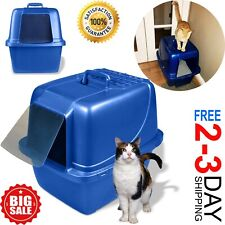 Cat Litter Box Self Cleaning Automatic Roll N Clean Removable Tray Waste Scoop