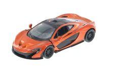 "New Kinsmart 5"" McLaren P1 Diecast Model Toy Car Pull Action 1:36 Orange"