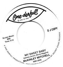 McKINLEY MITCHELL  MY SWEET BABY/NOW THAT YOU'RE GONE   ONE-DER-FUL RI  Ltd DEMO