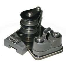NAUTOS 91648 - TRACK END CONTROL FOR MAIN TRAVELLER - 4:1 WITH CLEAT - STARBOARD