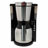 Melitta Coffee Maker Of Filter Jug Isothermal Timer Selector Of Scent Black