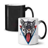 Tiger Tongue NEW Colour Changing Tea Coffee Mug 11 oz | Wellcoda