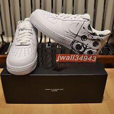 Supreme x Comme des Garçons Nike Air Force 1 Low CDG Shirt Mens Size 9.5