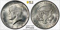 1964 SILVER KENNEDY HALF DOLLAR PCGS MS64 BLAST WHITE STRIKING BU UNC GEM (DR)