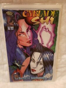 Cyblade / Shi: The Battle for Independents #1 (1995, Image) Witchblade