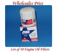 48 x Oil Filters PH47 MADE IN USA For  GM GMC Daewoo Isuzu Jeep Saab Suzuki