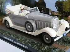 JAMES BOND HISPANO SUIZA MOONRAKER CAR MODEL 1/43RD SCALE MINT BOXED ^**^