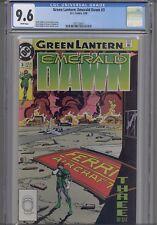 Green  Lantern Emerald Dawn #3  CGC 9.6 DC 1990 Comic: NEW CGC Frame