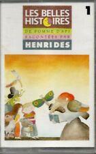 Les belles histoires de Pomme d'Api racontées par Henri Dès vol. 1  K7 AUDIO