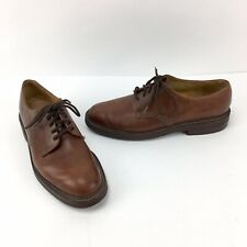 Barrie Ltd Oxford Shoes Cats Paw Heel Gumlite Vibram Soles Size 12 D Brown