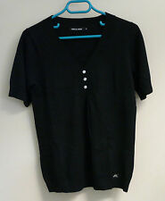 Pull noir à manches courtes marque «Mise au green» taille 2