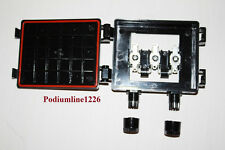 5 QTY JUNCTION BOXES FOR SOLAR PANEL WITH 2 HIGH GRADE DIODES DIY 8 AMP CAPACITY