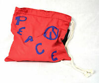 Marc By MARC JACOBS Peace Red Tote Bag NWT