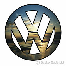 1x VW SUNSET LOGO car stickers decals vw camper surf