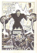 Planet of the Apes #21 p.12 - Evil Mystical Human - 1992 art by M.C. Wyman