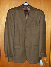Men's Jones New York Sport Jacket Size 38 Regular New FREE U.S. Shipping