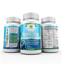 Prima Source Neural Edge Brain and Focus Formula - 60 capsules [VS-A-P] 5/17