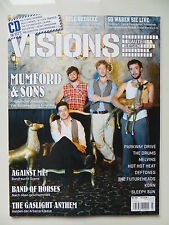 Visions 208 7/2010 inkl. CD Mumford & Sons The Gaslight Anthem Band Of Horses
