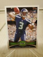 2012 Topps Russell Wilson Rookie Card RC #165 Seahawks Star QB 🔥💥🏈 SEAHAWKS