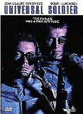 Brand New DVD Universal Soldier Jean-Claude Van Damme Dolph Lundgren Ally Walker