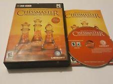 Die Kunst des Lernens Chessmaster Großmeister Edition PC DVD Rom Spiel Welt Post!