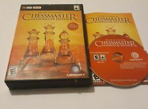 The Art Of Learning Chessmaster Grandmaster Edition PC DVD ROM Game World Post!