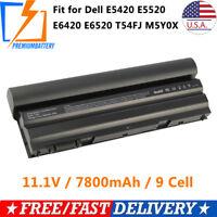 Dell N3X1D Battery 11.1V 65Wh for Dell Latitude E6540 E6440 E5530 E5430 /Charger