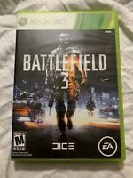 Battlefield 3 (Microsoft Xbox 360, 2011) Video Game Complete w/ Manuals UNTESTED