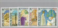 2001 Vatikan Michel Nr. 1375-1379  postfrisch