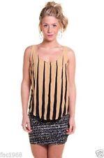 Hüftlange Damenblusen, - tops & -shirts aus Viskose Strumpfhose in Größe XS