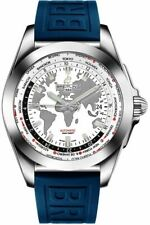 New Discount Breitling Galactic Unitime White Dial Mens Watch WB3510U0-A777-158S