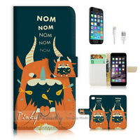 ( For iPhone 7 Plus ) Wallet Case Cover P1292 Cartoon Cow