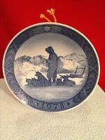 "Royal Copenhagen, Denmark "" Greenland Scenery"" 1978 Collectors Wall Plate"