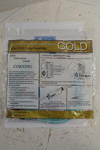 Corning 2F Zipcord Riser ST MMPC/ SC Duplex MMPC 5.000M JUMPER - NEW
