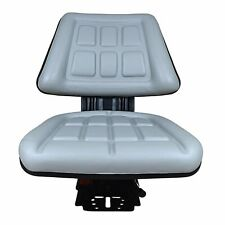 Grey Tractor Suspension Seat Fits Ford New Holland 600 601 800 801 860