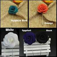 New Men/'s Suit brooch chest buckle brooch Cotton Solid Pin lapel pin PL130