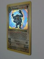 Machamp 1999 Pokemon 1st Edition Shadowless Base Set Holo 8/102 Ultra Rare Card