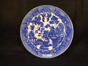 """Vintage Japan Blue Willow Saucer 5 7/8"""""""