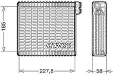 DEV09011 DENSO EVAPORATOR