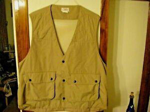 Orvis Fishing Vest Hiking Safari Cotton/Polyester Blend XL Women or Men