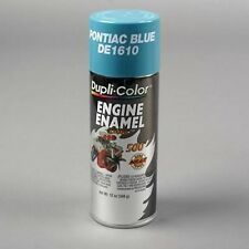 Duplicolor DE1610 Engine Enamel Paint, Pontiac Blue, 12 Oz Can