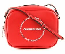 Calvin Klein Sculpted Camera Bag Tasche Racing Red Rot Neu
