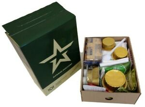 MRE. Russian army ration.Canned food. Meal ready to eat. MENU №3